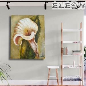 Маслена Картина за Стена, Кала, 35х45см, Цветя 21, Ръчно рисувана, Лорета Арт