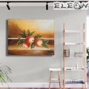 Картина Авторска - Ябълки 27, 45х35см, Маслени бои, Авторска, Лорета Арт