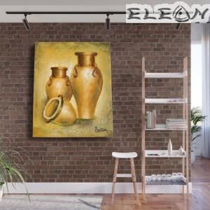 Ръчно Рисувана Картина Стомни, 45х55см, Натюрморт 20, Маслени бои, Лорета Арт
