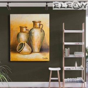 Картина за стена, Маслени бои - Делви, 60х50см, Натюрморт 46, Авторска, Лорета Арт