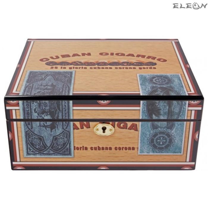 Кутия за пури Cuban Cigarro - Хумидор 009026