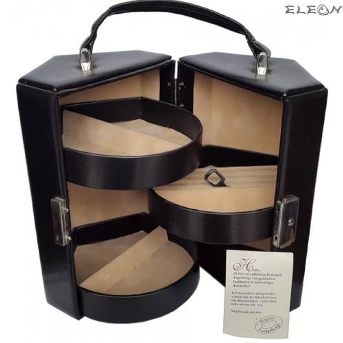 Кутия за бижута от естествена кожа SACHER - 816000