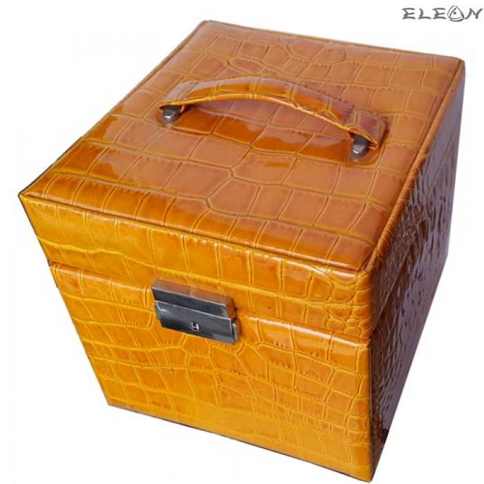 Кутия за бижута от естествена кожа SACHER - 816113