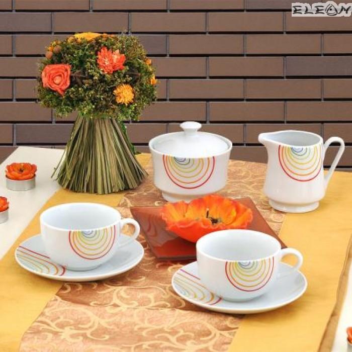 сервиз за Кафе 15 части - Rainbow
