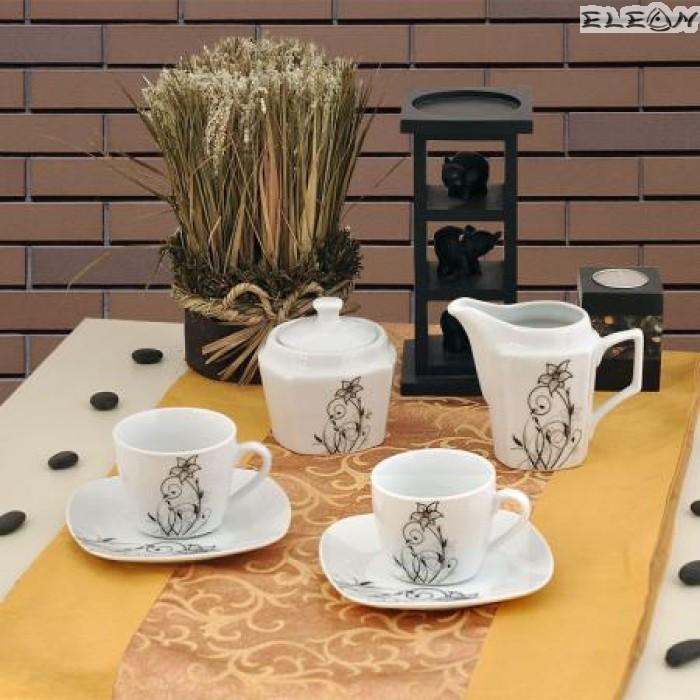 сервиз за Кафе 15 части - Flower