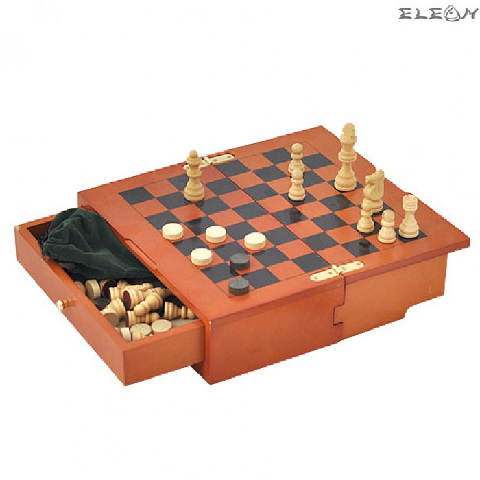 Настолна Игра Шах и Морски шах Vertini - MAX08