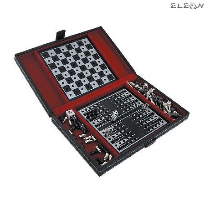 Настолна игра Шах и Табла Vertini - MAX10