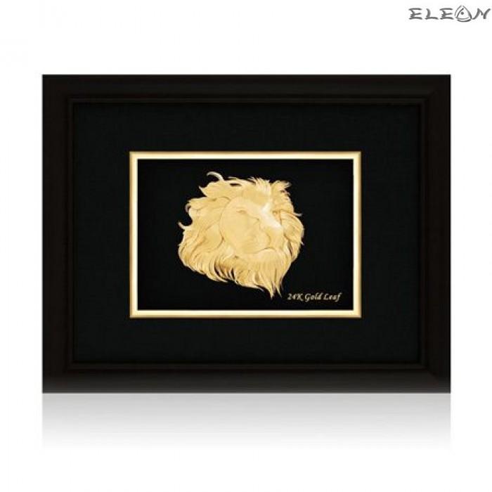 Златна картина ORH12 - Лъв 24 карата