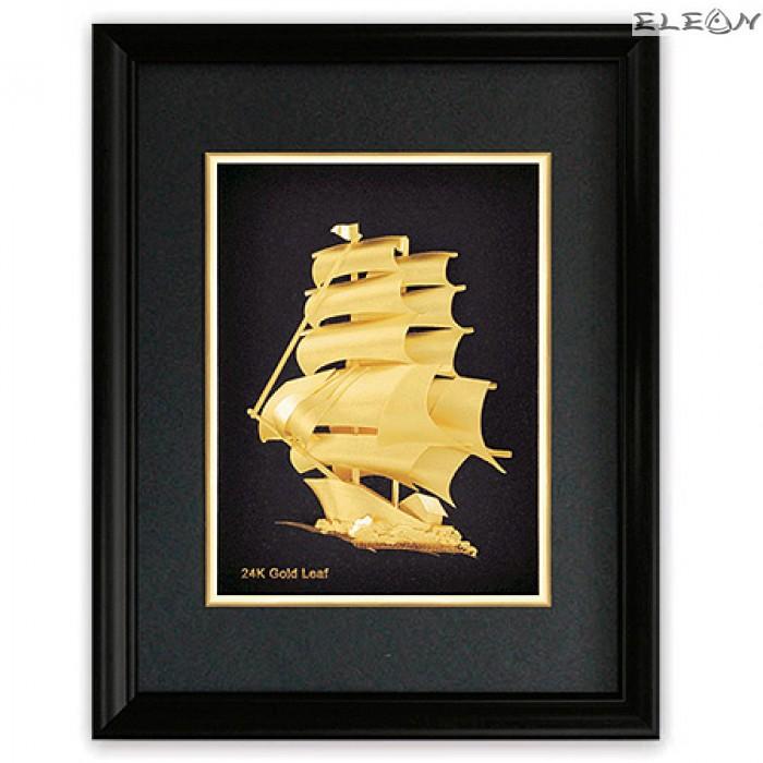 Златна картина Кораб ORH14 - 24карата