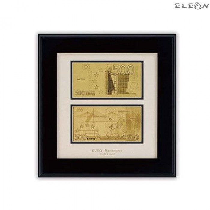 Златна Банкнота Евро ORH4 - 24 карата