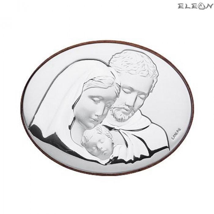 Икона Свето Семейство сребро RG6440