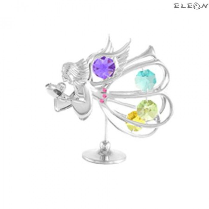 Crystocraft Ангел със сърце - Swarovski Crystal RY026