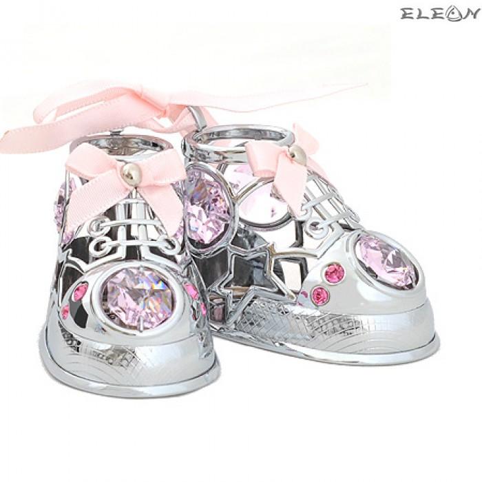 Crystocraft Бебешки обувчици - Swarovski Crystal RY072