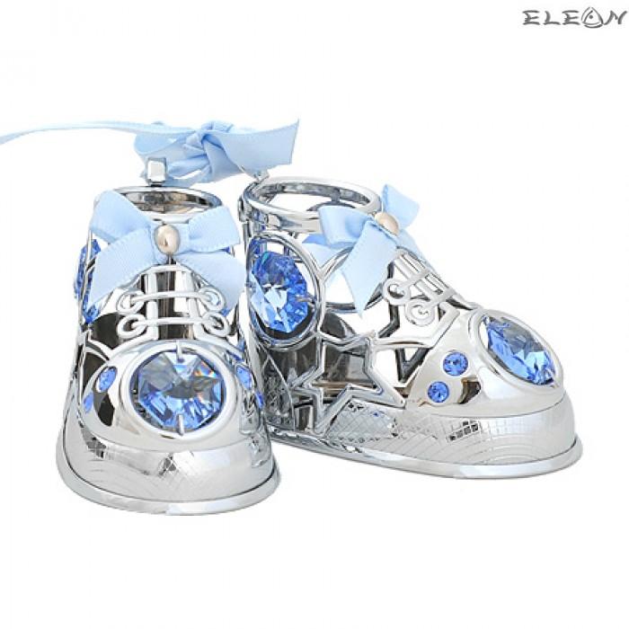 Crystocraft Бебешки обувчици - Swarovski Crystal RY073