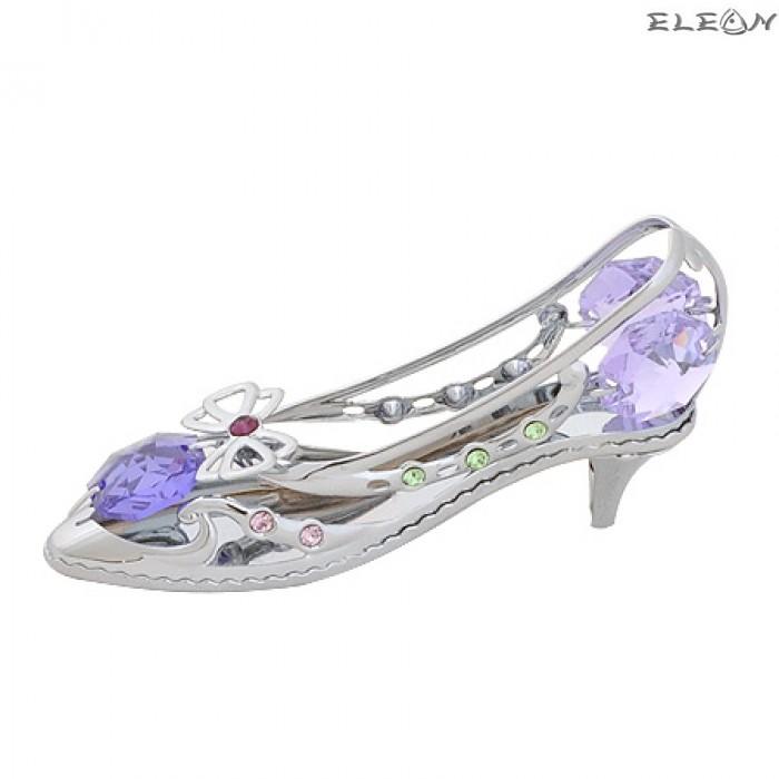 Crystocraft Дамска обувка - Swarovski Crystal RY078