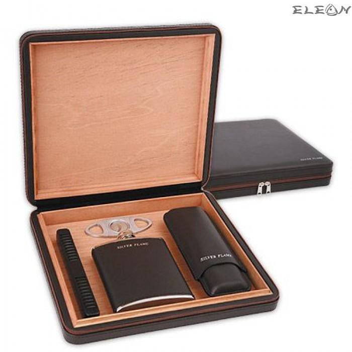 Кутия за пури с аксесоари - Хумидор SF0101