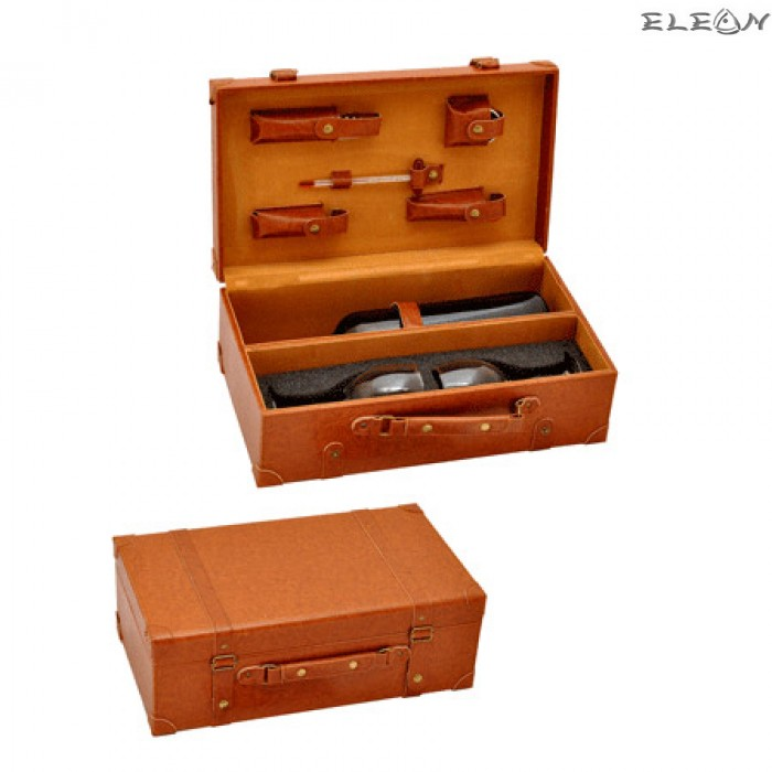 Двойна Кутия за вино с вградени аксесоари UC02