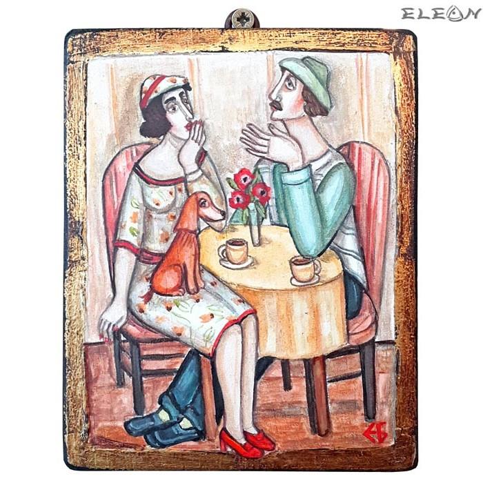 авторска картина - Сутрешно Кафе