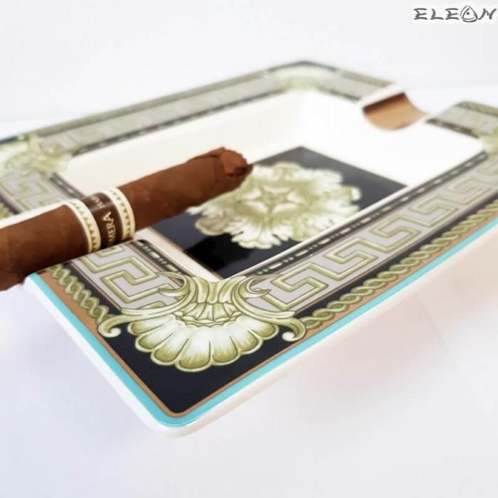 Пепелник за пури изработен от костен порцелан