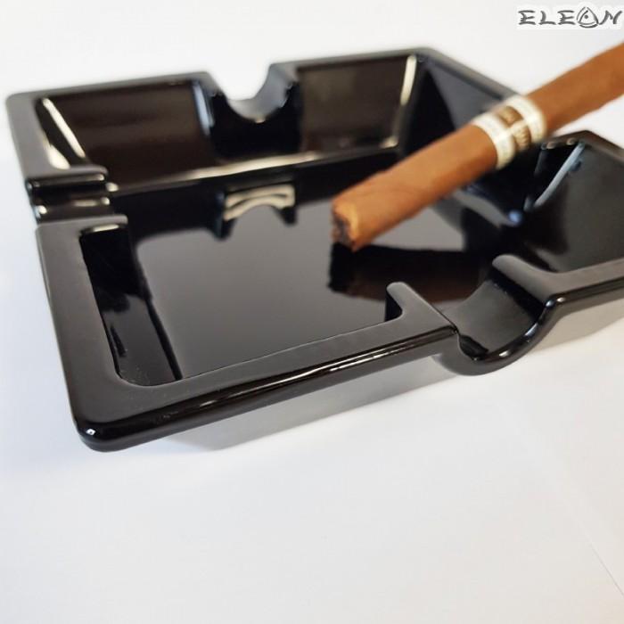 Пепелник за пури голям