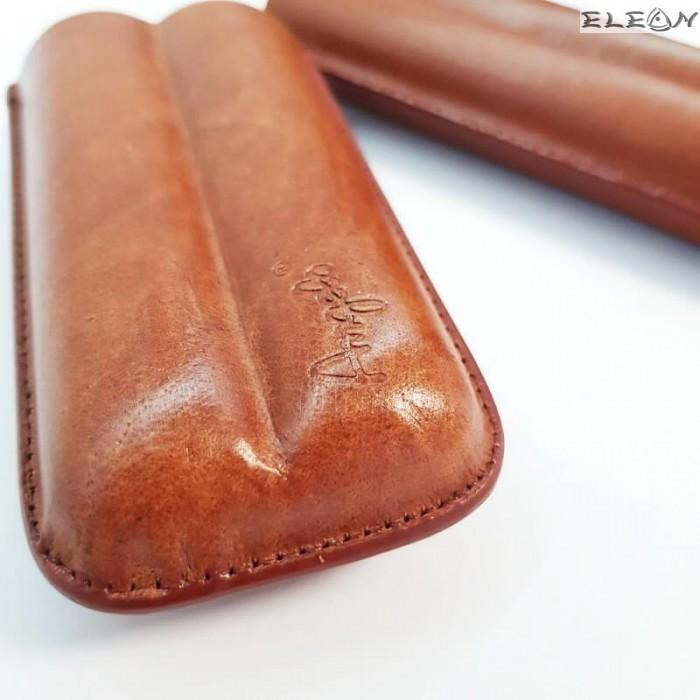 Калъф за пури от естествена кожа