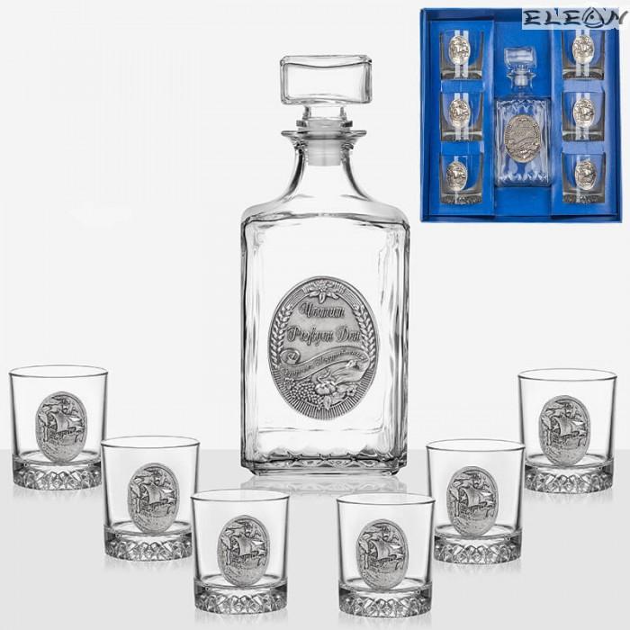 Комплект за уиски от 7 части