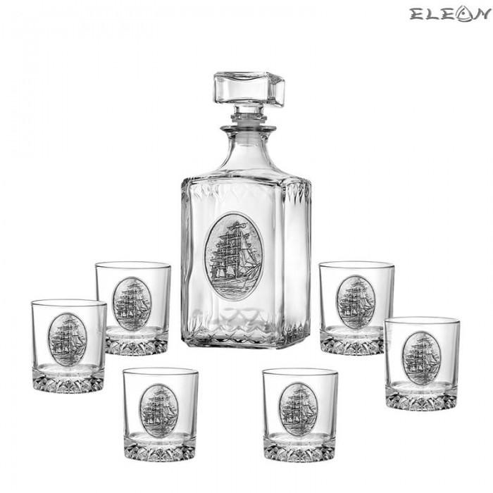 Луксозен сет за уиски 7 части