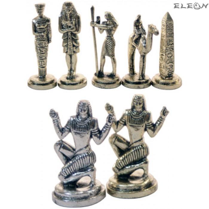 Шах с месингови фигури - ЕГИПЕТСКИ MA3030