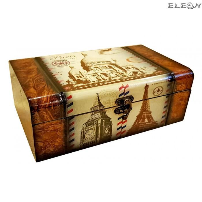 Дървена кутия за бижута 97732 - Paris 2
