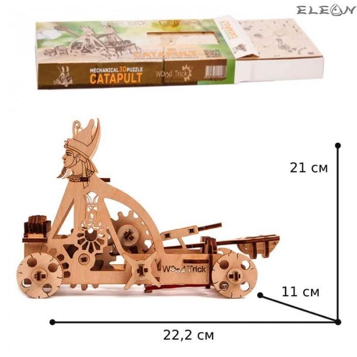 3D пъзел Катапулт 22см, 106 части