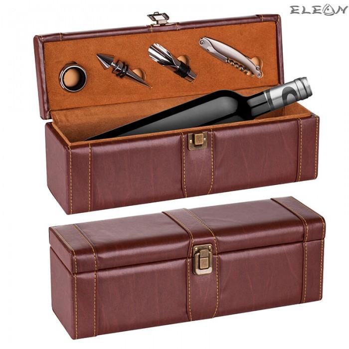 Кутия за вино за 1 бутилка с вградени аксесоари UC07