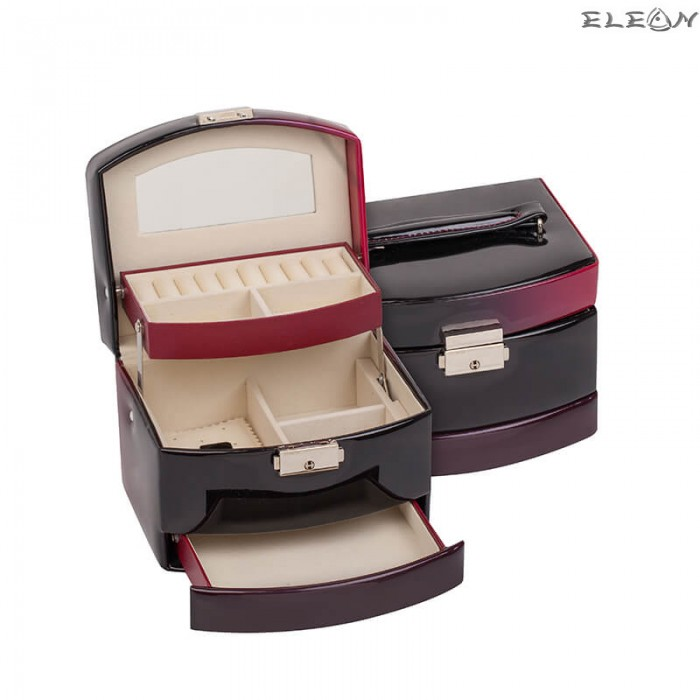 Кутия за бижута - Burgundy JA1315