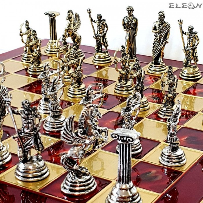 Шах мат с месингови фигури - СТРЕЛЦИ