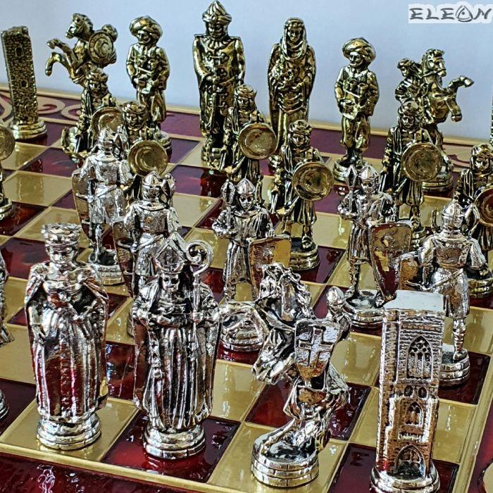 Шах с месингови фигури - Кръстоносци срещу Османци
