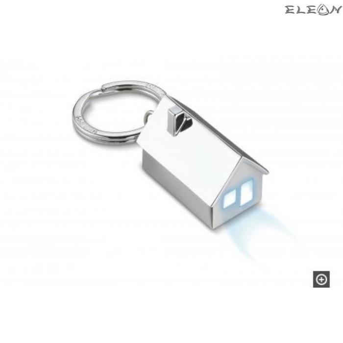 Ключодържател къща с LED светлина