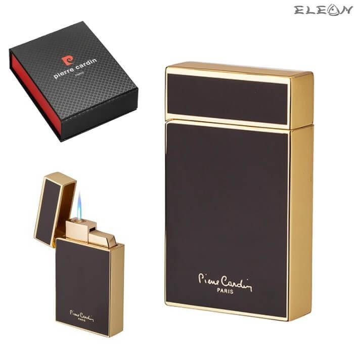 Запалка с JET пламък, черно със златно