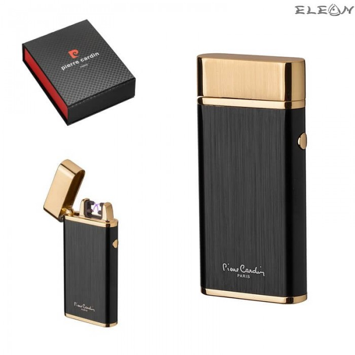 Плазмена запалка, USB зареждане, златно и черно