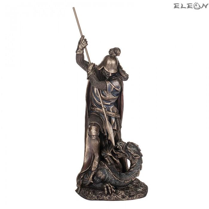 Статуетка Свети Георги 30см, изработена от полирезин