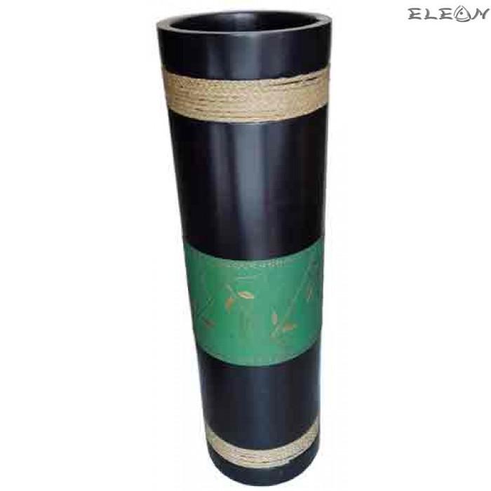 Сувенир от дърво - ВАЗА цилиндър от манго  311009