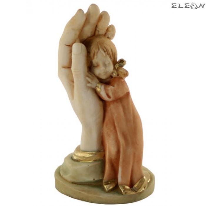 Статуетка от алабастър - ЛАСКА момиченце