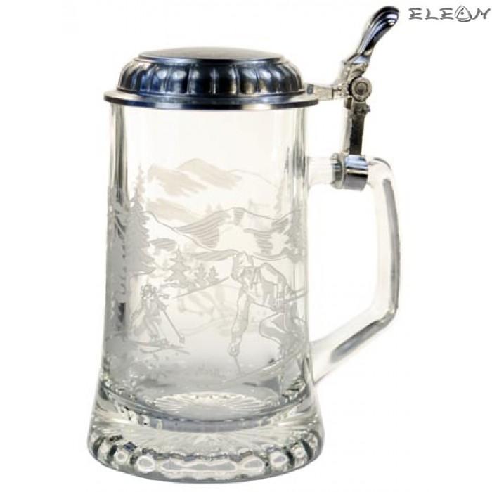 Халба за бира - скиори 66060410