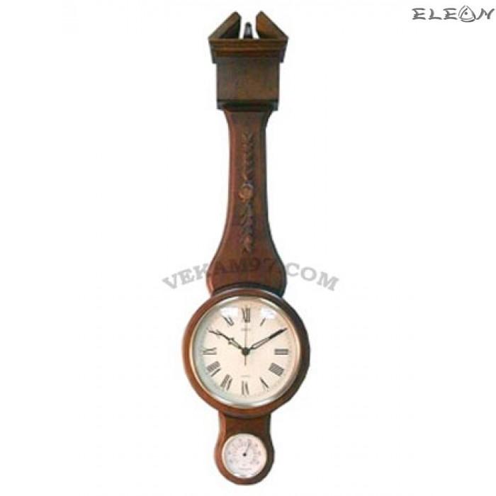 Стенен ретро часовник 512 с термометър в стил винтидж