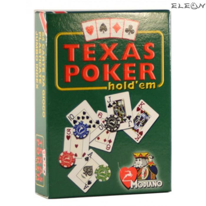 Карти за игра на TEXAS HOLD'EM покер