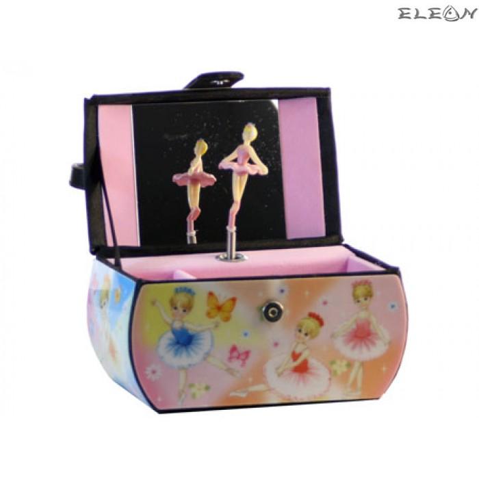 Детска музикална кутия с балерина - 22082