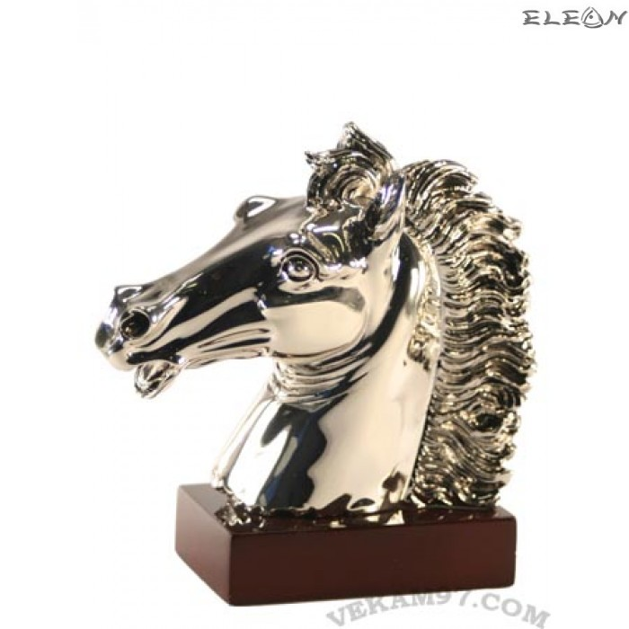 Сребърна статуетка - КОНСКА ГЛАВА