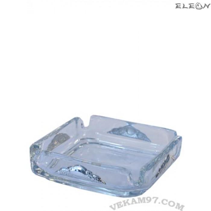 Пепелник със сребърни орнаменти - 8033