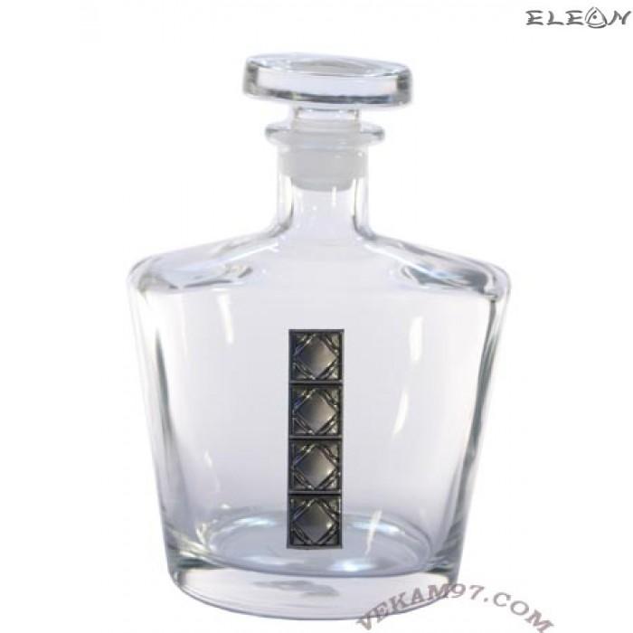 шише за УИСКИ със сребърни орнаменти - 8083