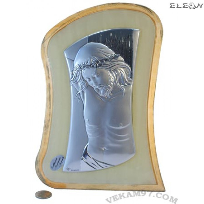 икона сребро Исус Христос - 9345