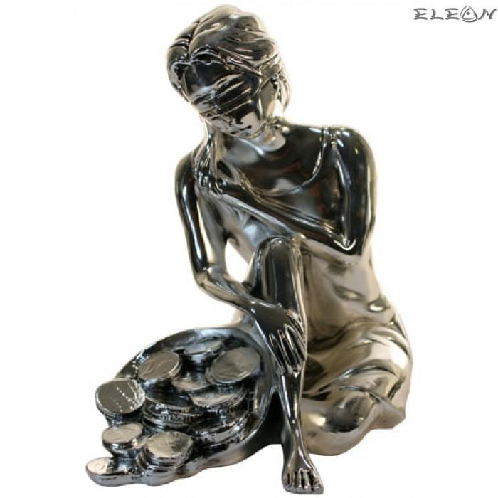 Сребърна статуетка - ФОРТУНА 7180