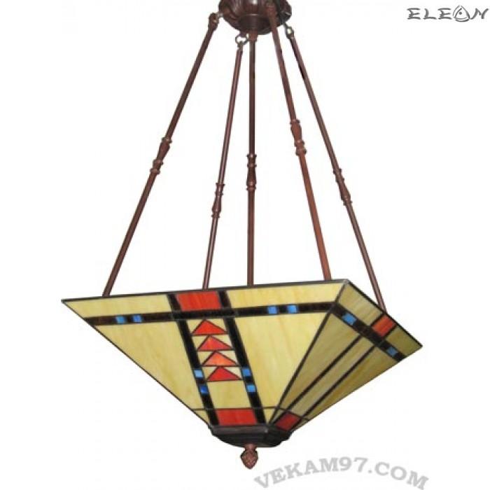 Висяща лампа в стил Тифани - лампа за хол TIFFANY 16347T